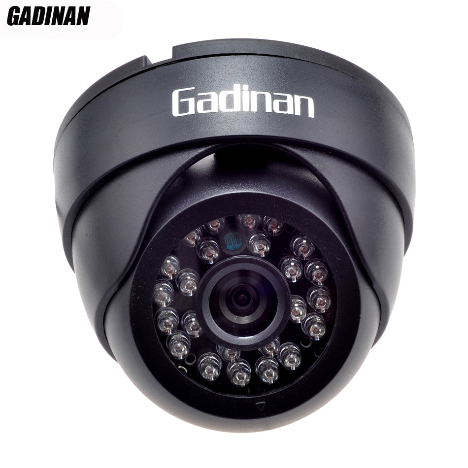 GADINAN AHD Camera 1.0MP/1.3MP CMOS 2000TVL 1080P 3.6mm Dome IR-CUT HD Security 2000TVL Night Vision Indoor IR CCTV Camera