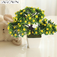 Artificial Flower Plant Potted Bonsai Fake Flower Plant Pine Trees For Wedding Home Decoration