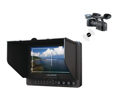 Lilliput 665/P/WH 7 дюймов Беспроводной HDMI Монитор с расширенными функциями, беспроводной HDMI вход, WHDI, YPbPr, компонентного видео,