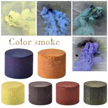 5 шт. красочный дым Волшебная забавная игрушка аксессуары фейерверк сцена фон фотографии реквизит дым мягкий волшебный цвет случайный
