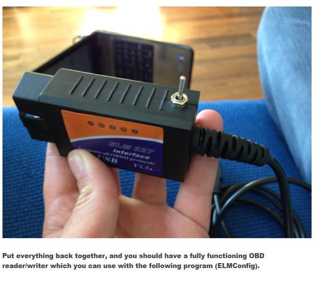 Ulme 327 usb mit Der original FT232RL und PIC18F2480 chip die ...