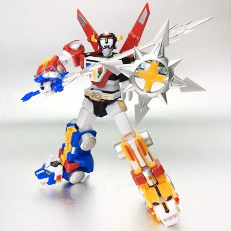 Modèle Original assemblé 5 en 1 Voltron SUPER MINIPLA roi de la bête roi Kong dieu de la guerre cinq Lions PVC figurine jouets