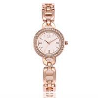 Luxury Brand Watch Women Vacuum Plating Stainless Steel Wristwatch Japanese Movement Ladies Bracelet Quartz Watch Reloj Mujer