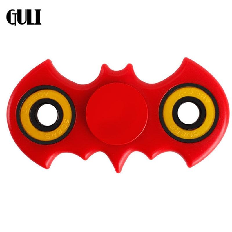Fidget Spinner Abs Decompression Finger Creative Toy Spin Finger Spiral Batman Hand Spinner >3years Old 4.2cm*8.1cm Spinner