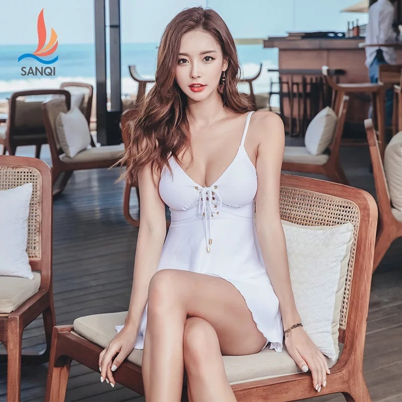 Swimming Suits One Piece For Plus Size Women Swimwear Swimsuit Bathing Dress Sexy Push Up Solid Polyester Sierra Surfer Sports