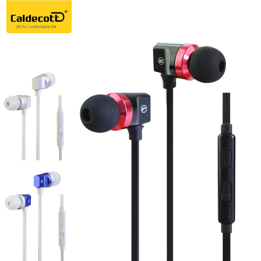 Caldecott Stereo Music Sport Earphone Headset 3.5mm Super Bass Noise Cancelling Hifi Earbuds Microphone for Smartphone Tablet PC kz music hifi earphone colorful headset balanced armature noise cancelling stereo earbuds with microphone for iphone xiaomi