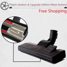 Universal Vacuum Cleaner parts Accessories Metal bottom brush Carpet Floor Nozzle Vacuum Cleaner Head Tool 32MM/35MM цена