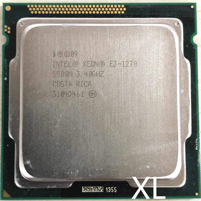 Intel Xeon e3-1270 E3 1270 E3-1270 3,4 GHz LGA1155 8MB Quad Core CPU procesador