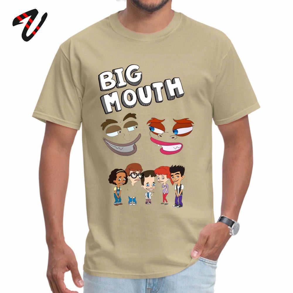 Uomini di Disegno di Marca T Camicia Rotonda Del Collare Padre Giorno Puro Linkin Park T-Shirt Strada Traktor Manica Grande Bocca Monsters Felpe