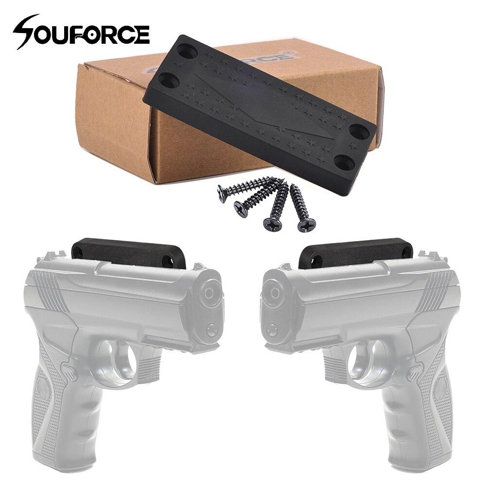 43 Lbs pistolet Tactic chasse aimant magnétique étui support pistolet caché étui pour chasse pistolet voiture chevet porte sous bureau