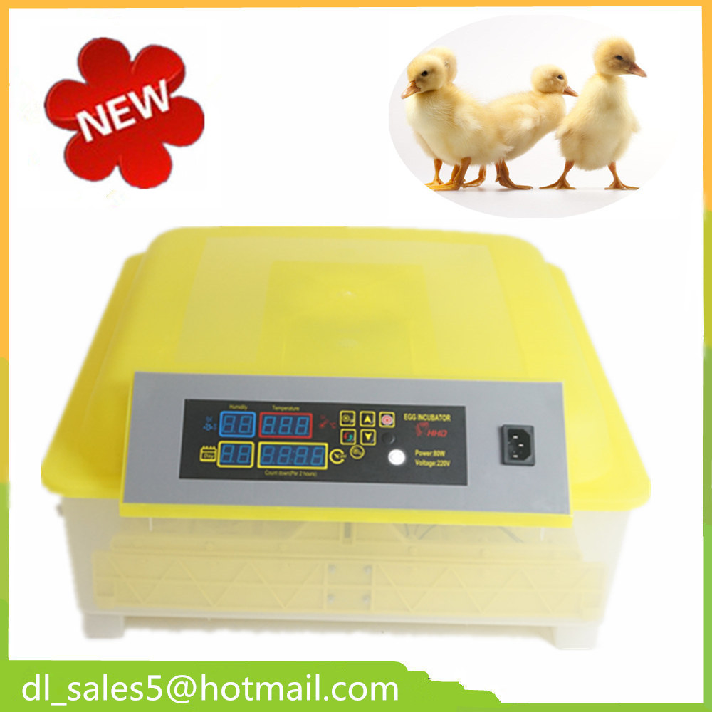 High Quality Incubator 48 Eggs Digital Temperature Brooder Mini Hatchery Egg Incubator Hatcher for Chicken Duck Bird Pigeon new design digital temperature incubator pet supply duck hatcher household chicken egg incubator