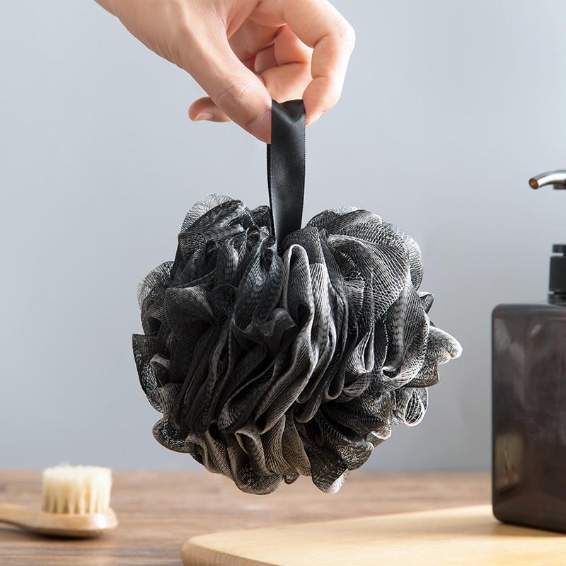 Vanzlife bast brush body sponge brush bath with natural bristles Exfoliator shower Room Bathing foam the body scourer for loofah 2