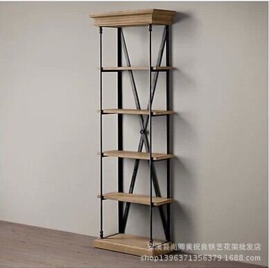 Us 425 0 The New Iron Glove Do Old Wood Vintage Wrought Shelves Can Be Customized Multi Display In Bookcases From Furniture On