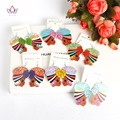 2017 Unique African Earring For Women Fashion Trendy Africa Traditional Jewelry Lightweight Earrings Wood Materical WYA152