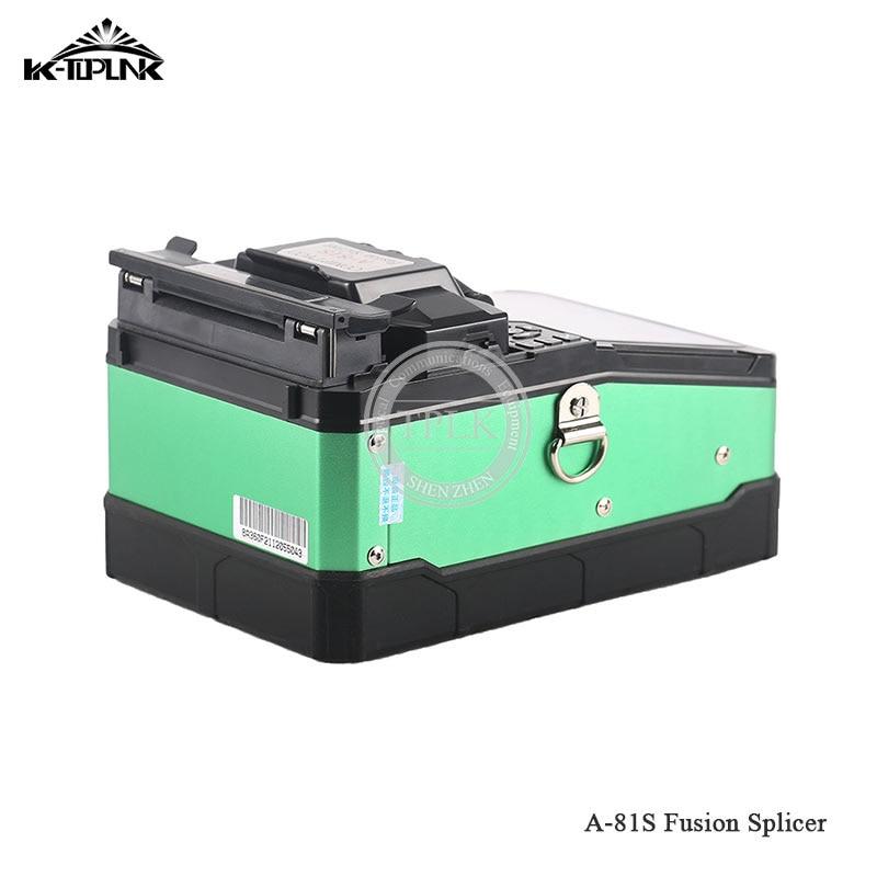 Дешевый FTTH волоконно-оптический сварочный аппарат для сращивания A-81S сварочный аппарат для сращивания с 9 секундами - Цвет: AI-81S green