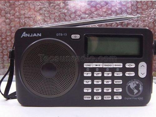 Anjian dts-13 Цифровой включение fm-радио