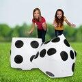 30 CM Blanco Cubos De Puntos Dados Dados Inflables Suave Juguete de Los Niños de artículos para Fiestas Favores Promocional-sitio Apoyos Inflables Golpe Juguetes
