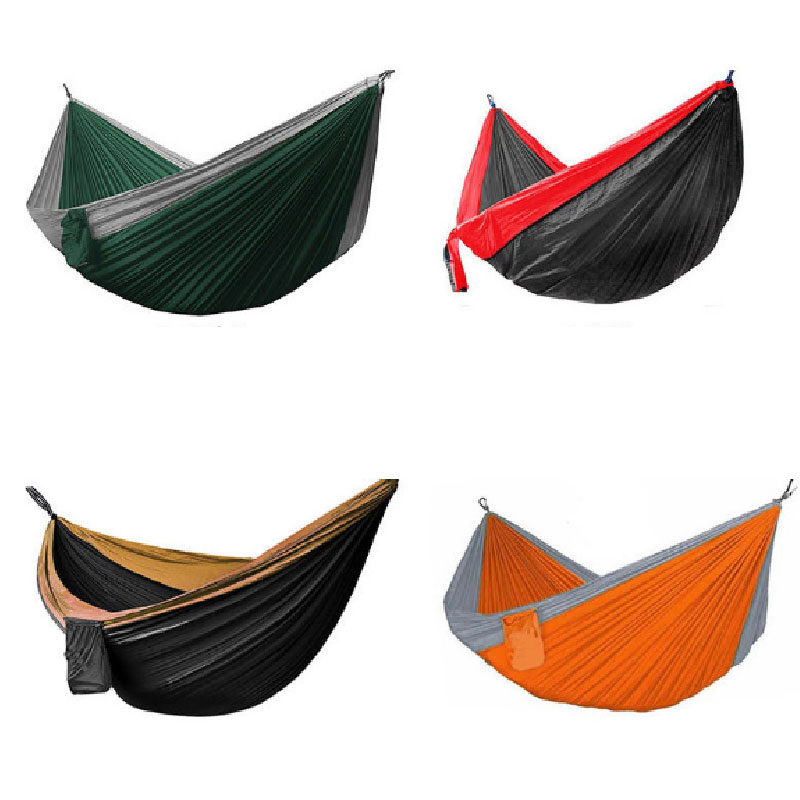 travel camping Portable Hammock 2.1x1.4M Outdoor Home Garden Tree Swing Hammock Bed Sleeping for 2 Person New Arrival hot 2017 outdoor sleeping parachute hammock garden sports home travel camping swing nylon hang bed double person hammocks hot sale