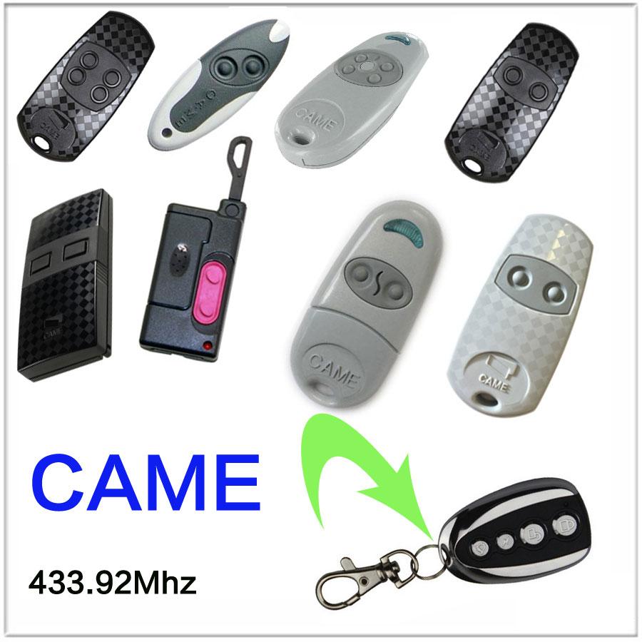 CAME 433.92 Mhz Duplicator Copy CAME TOP-432EV CAME TOP-432NA remote control CAME TOP432NA TOP432EV