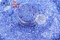 Láser Holográfico HA2042-303 Royal Blue Color de Forma Hexagonal Cequis Del Brillo para el arte del clavo de DIY y la decoración de Vacaciones