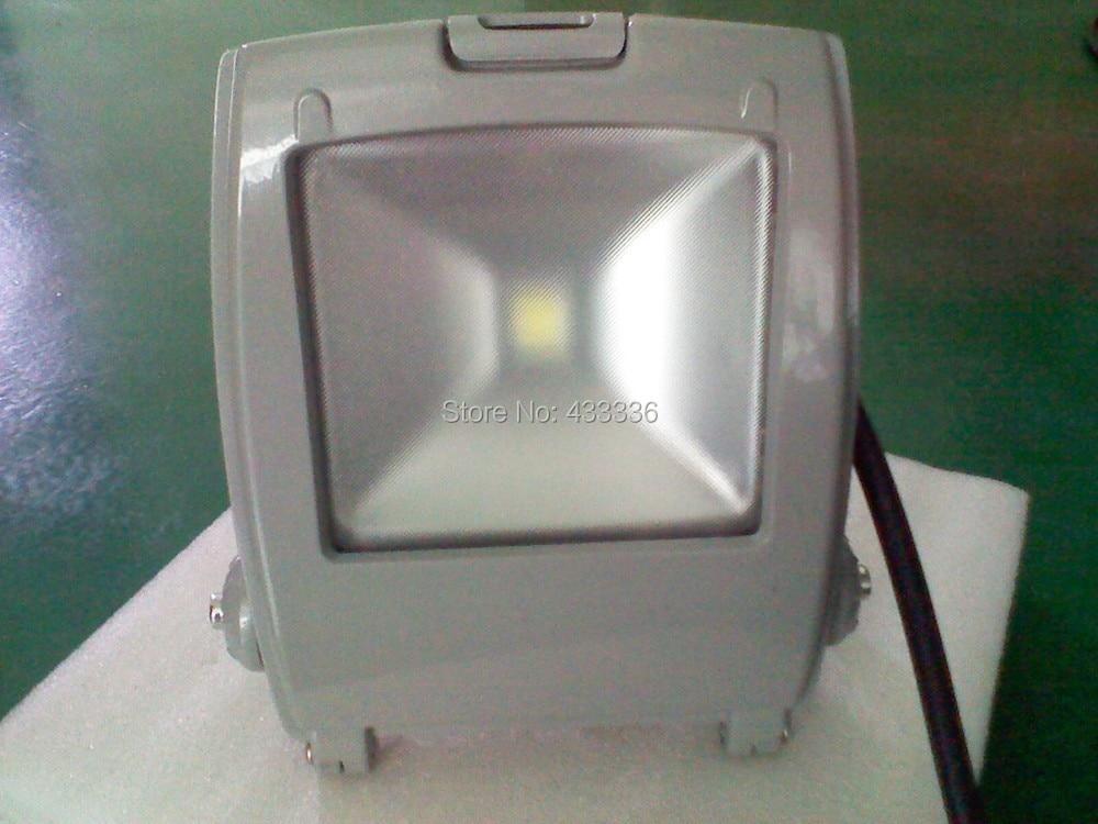 led working light 70w grey black outdoor led warm/day/cold white led spotlight outdoor wall lamp projetor 110V120V220V230V 240V