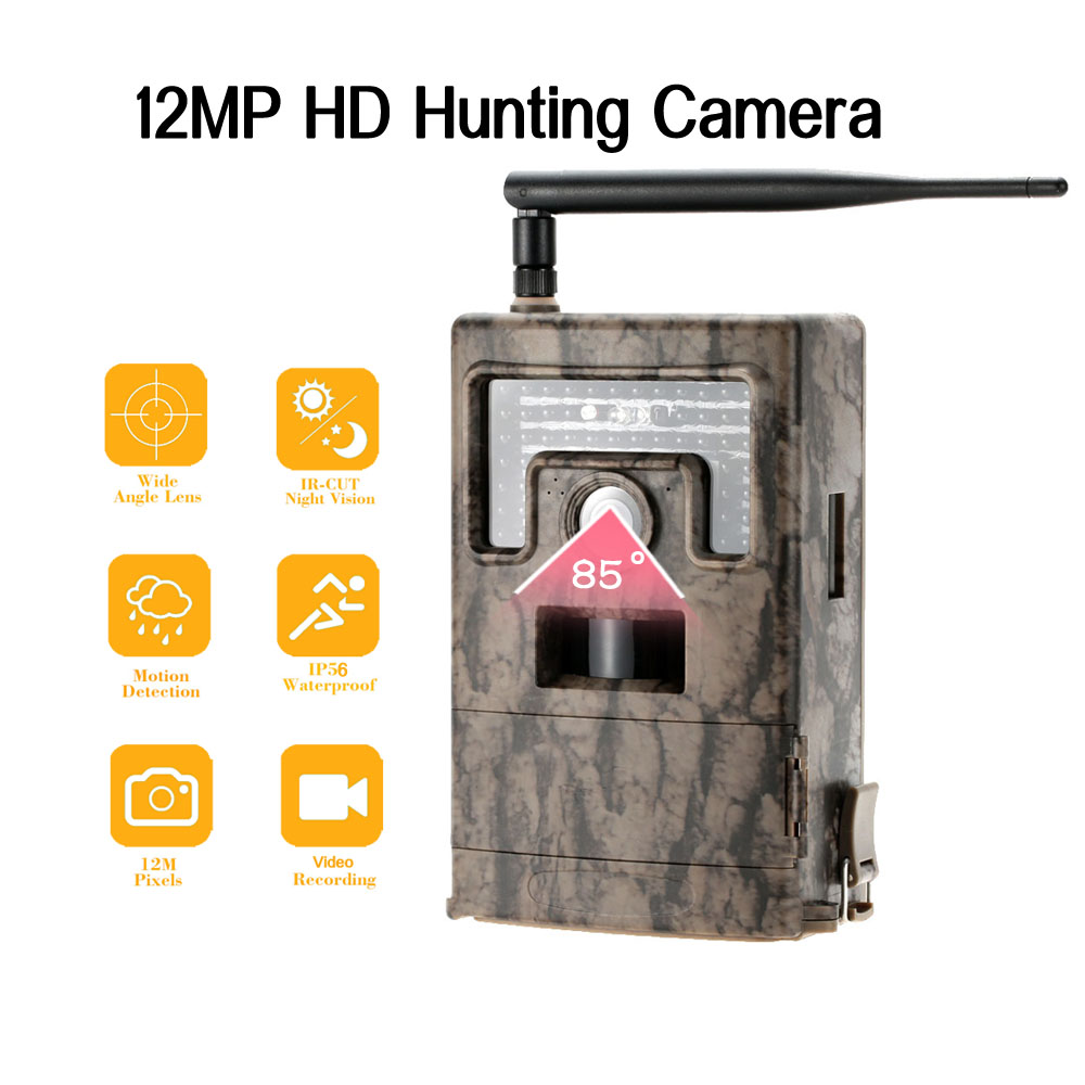 Portable Wildlife Hunting font b Camera b font MMS 12MP HD Digital Infrared Scouting font b
