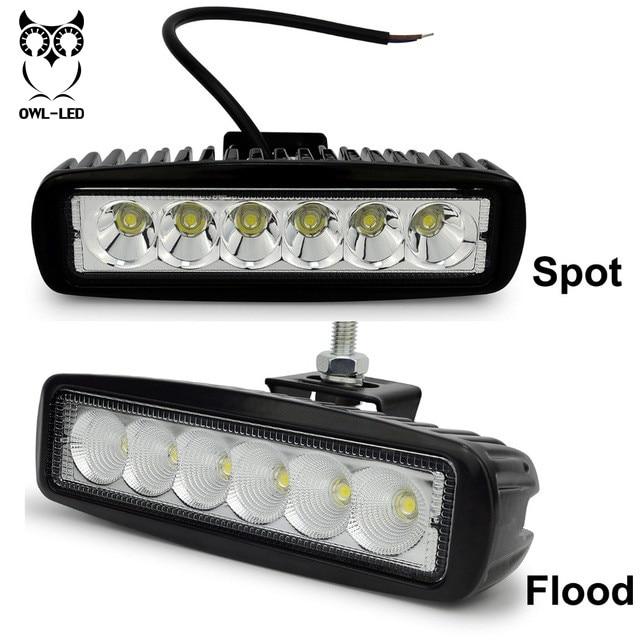 ᐊhigh Quality Mini Light Bar 18w 12volt 24volt Led Light Bar Cars