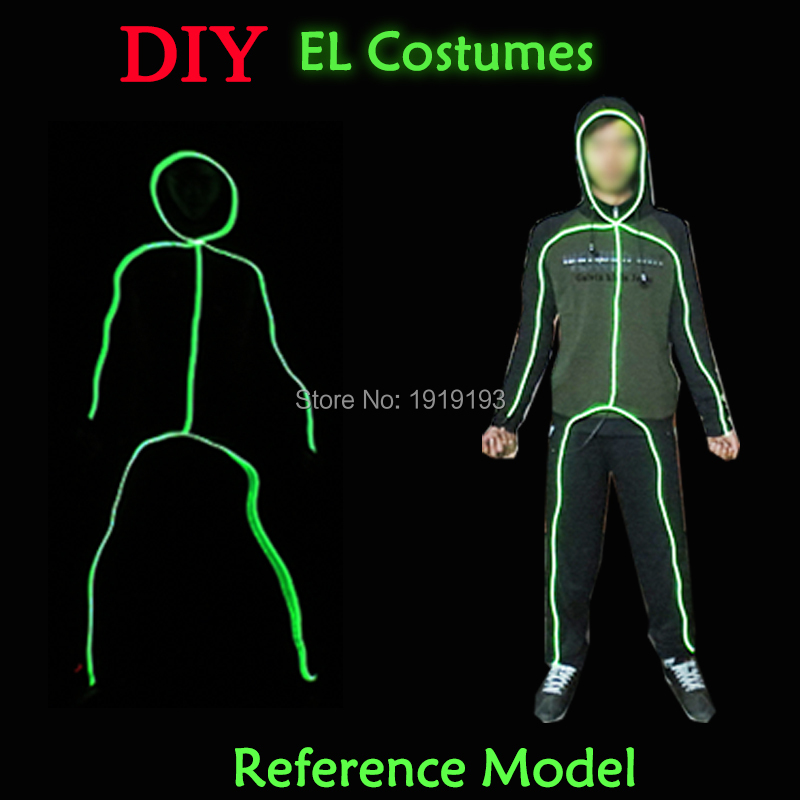 Pretty El Wire Costume Photos - Electrical and Wiring Diagram ...