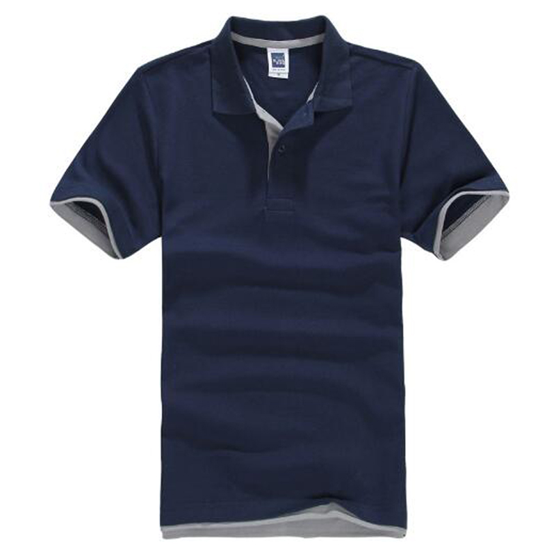 Brand New Mens Polo Shirt Men Cotton Short Sleeve Shirt Sportspolo Jerseys Golftennis Plus Size XS - 3XL Camisa Polos Homme