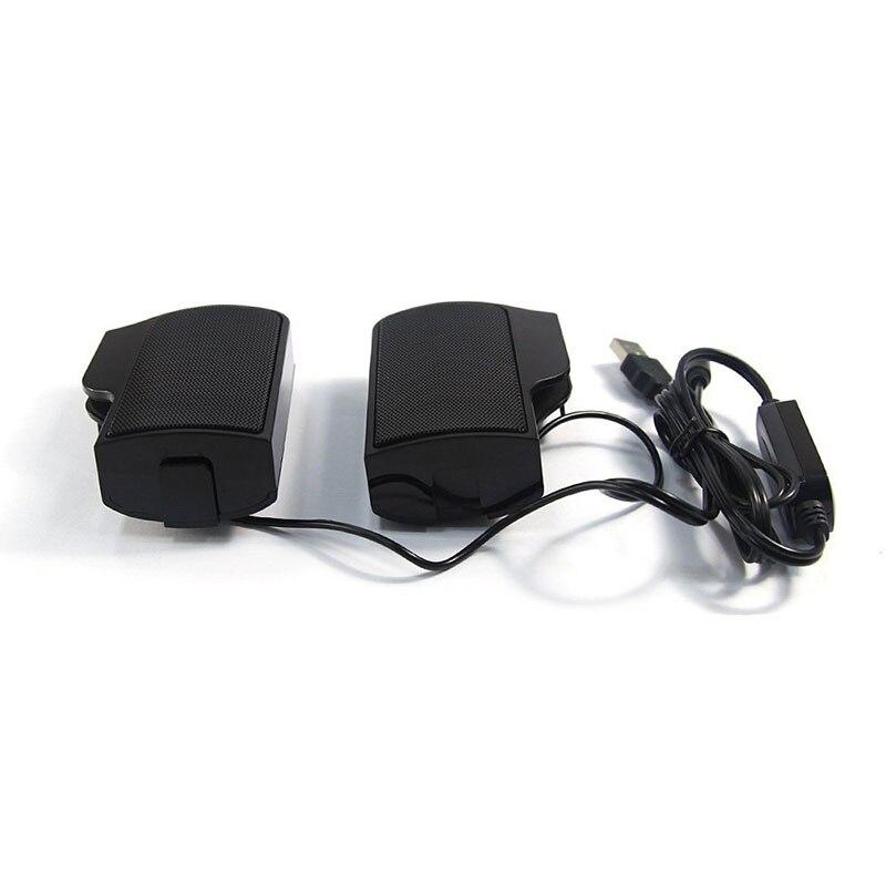 Leegoal Klip Hoparlör Mini Taşınabilir Clipon USB Stereo - Taşınabilir Ses ve Görüntü - Fotoğraf 4
