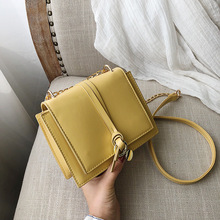 купить Female Crossbody Bags For Women 2019 High Quality Leather Luxury Handbag Designer Sac A Main Ladies Chain Shoulder Messenger Bag по цене 920.3 рублей