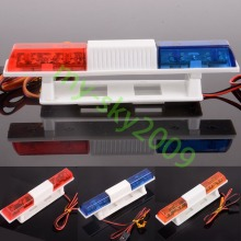 1/10th Model Police Night Flash Orange / Blue / Red Bright LED Lights for RC Car Truck TRAXXAS HSP HPI REDCAT Axial LED502