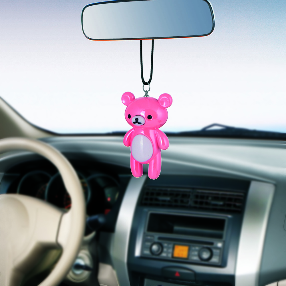 Cartoon Cute Bear Automobile Interior