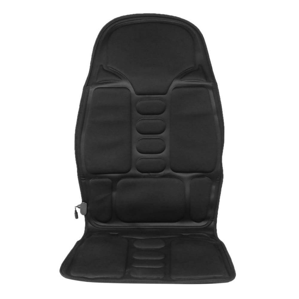 New Professional Car Household Office Full Body Massage Cushion Lumbar Heat Vibration Neck Back -5217