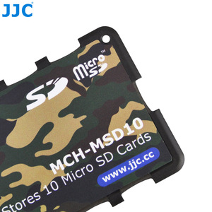 Image 4 - JJC Memory Card Case Holders Handle Storage Box Memory Card Wallet Credit Card Size for SD SDHC SDXC Micro SD MSD TF Cards