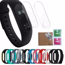 Colorful Replace Strap for Xiaomi Mi Band2 Silicone Wristband for Xiaomi Band2 Smart Bracelet 10 Color Smart Band Accessories