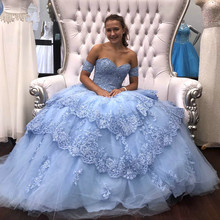 kejiadian Ball Gown Quinceanera Dresses 2019