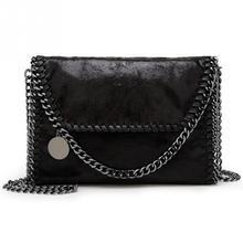 Women Chain Messenger Crossbody Bag Clutch Casual Large Capacity Fashion single Shoulder Bag PU Leather bolso mujer