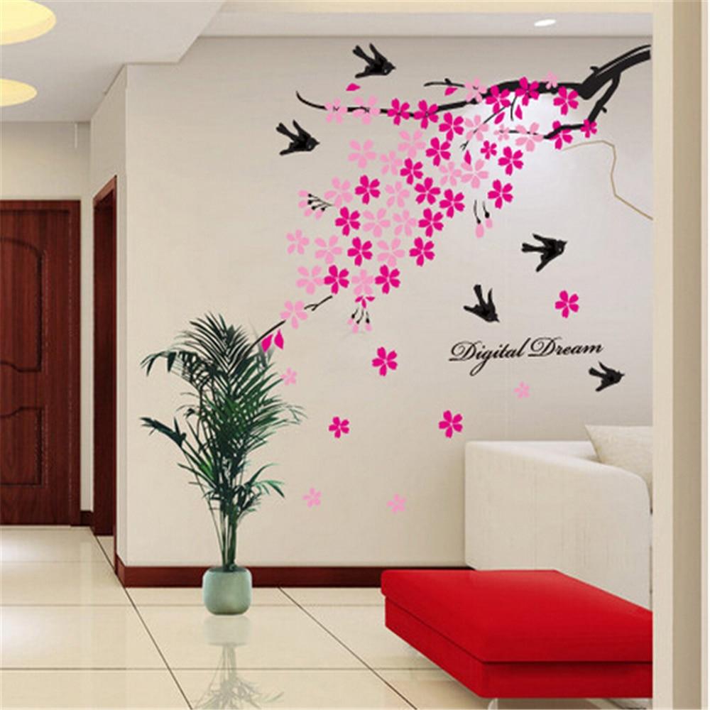 Online Sakura Swift Wall Art Vinyl Stickers For Kids Rooms Children Home Decor Sofa Living Decal Child Sticker Aliexpress Mobile