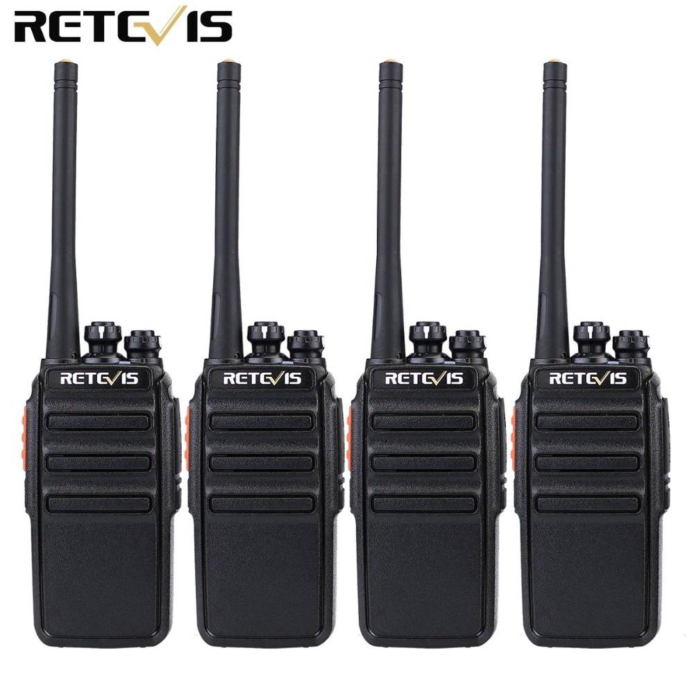4 pcs Retevis RT24 Talkie Walkie PMR446 UHF 0.5 w 16CH Licence-Livraison VOX Balayage Jambon Radio Hf Émetteur-Récepteur a9123