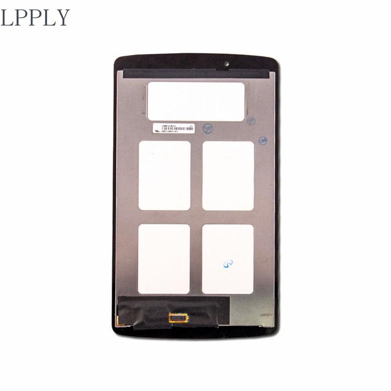 все цены на LPPLY LCD assembly For LG G Pad F 8.0 V495 V496 LCD Display Touch Screen Digitizer Glass Free Shipping онлайн