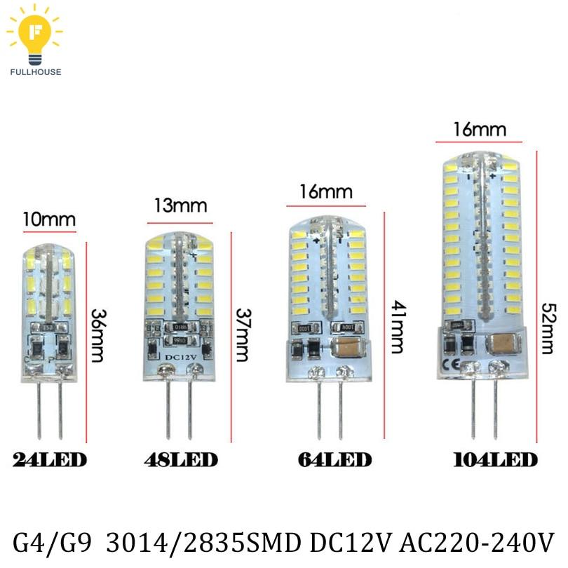 Alician High Luminous E14 220V 64LED Spot Light 3014 SMD No Flicker LED Corn Bulb with Smart Power IC Warm White 4W