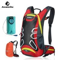 ANMEILU Climbing Bags Rain Cover Water Tank Unisex Waterproof Sport Camping Hiking Cycling Backpack Bag Eastpack
