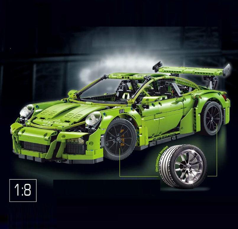 3368 2726 stücke 3368 Auto Modell Gebäude Kits DECOOL Blöcke Spielzeug Ziegel legoingly technik 42056 20001 20001B auto voiture