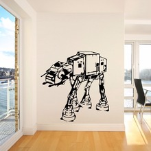 Wall Stickers Star Wars AT Walker Decal Kids Teens Boys Room Art Mural Home Design Poster Decoration AY655