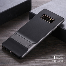 For Samsung Galaxy Note 8 Case Cover PC + Silicon Hybird Support Stand Phone Protection Capa Funda For Women & Male Men