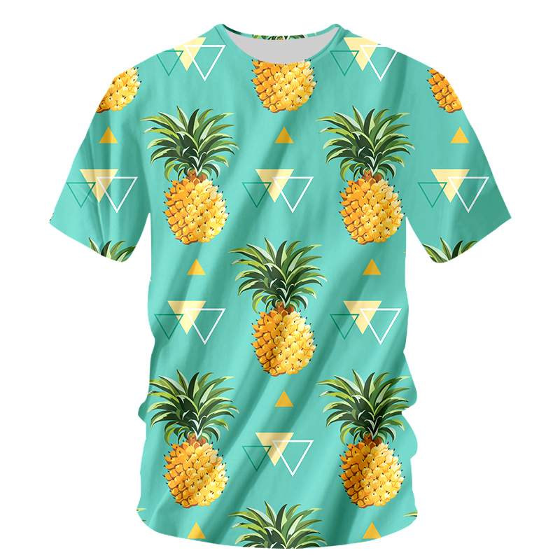 07409930f7ff Fashion Fruit Funny T shirt Men Tshirt 6XL Pineapple Orange Print Harajuku  Tops Tee Casual Short Sleeve Men's 3D T Shirt-in T-Shirts from Men's  Clothing on ...