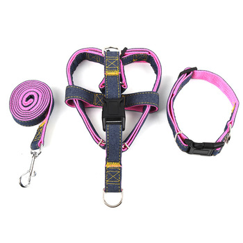 Adjustable Vest+ Collar Pet Dog Leads Traction Rope 1