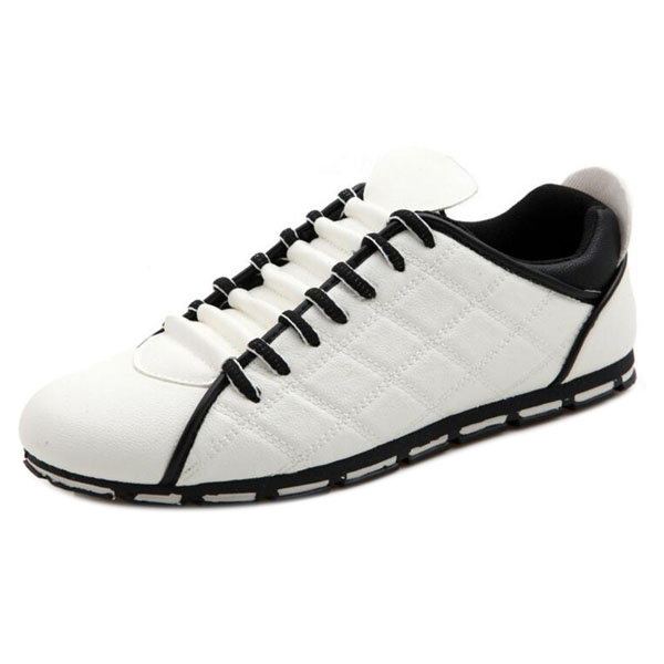VSEN men England casual fashion non slip breathable  leather shoes 44White branded men s penny loafes casual men s full grain leather emboss crocodile boat shoes slip on breathable moccasin driving shoes