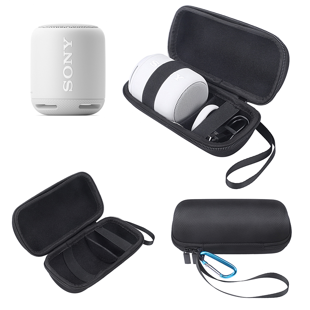 Fashion Carry Protective Speaker Box Pouch Cover Bag Case For Sony XB10 Portable Wireless Bluetooth Speaker-Fit for Plug&Cable japanese pouch small hand carry green canvas heat preservation lunch box bag for men and women shopping mama bag